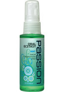 Passion Oral Ecstasy Deep Throat Desensitizing Spray Mint 2...